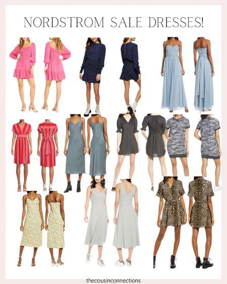 Nordstrom dress sale! Here are our favorites 🤩🤩  Wedding guess dresses Memorial Day  Beach vacation Date night dresses Summer dress   #LTKSaleAlert   #LTKunder50 #LTKsalealert #LTKwedding