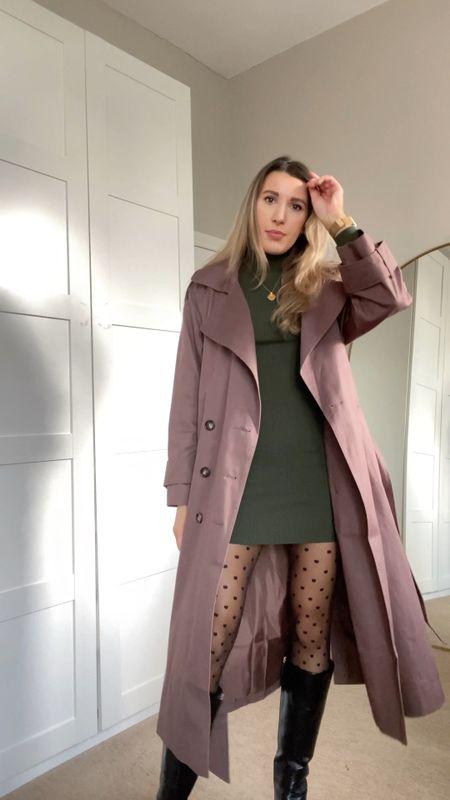 4 ways to wear spotty tights for autumn and winter   #LTKeurope #LTKunder100 #LTKstyletip