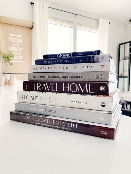 My favorite coffee table books to use in stying my home decor  #LTKstyletip #LTKunder50 #LTKhome