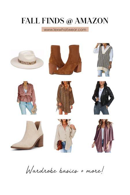 Fall Wardrobe Finds At Amazon!!   #LTKSeasonal