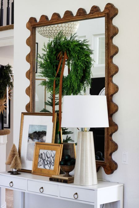 Today is the day to snag all the deals on those big ticket items you've been eyeing all year! My favorite mirror is 20% off plus free shipping and my giant capiz light is 25% off. These are investment pieces I pair with more economical pieces to create a collected look that's unique to me. They are timeless and can be willed to your children...just sayin'. . Screenshot or 'like' this pic to shop the product details from the LIKEtoKNOW.it app, available now from the App Store!   http://liketk.it/2HJIA @liketoknow.it #liketkit #liketoknowithome