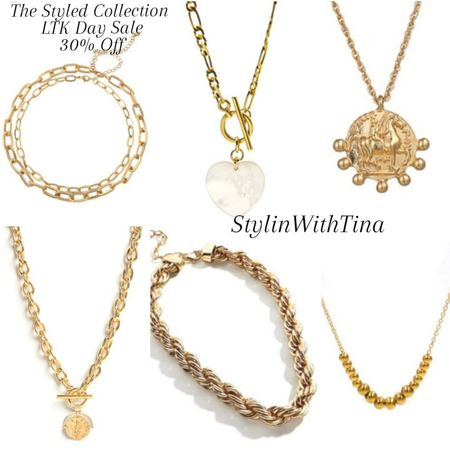 The Styled collection. Great affordable trendy styles of jewelry. use Code LTK30