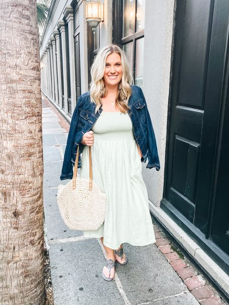 Love that this Madewell dress can go from Summer to Fall with just a few accessories!    #LTKstyletip #LTKtravel #LTKunder100