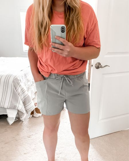 New favorite casual athletic shorts with deep pockets!💃🏼 Size up for a loose, comfortable fit. http://liketk.it/2SjY6 #liketkit @liketoknow.it #LTKsalealert #LTKstyletip #LTKunder50