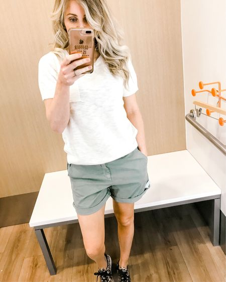 Everyday shorts that you can wear with any top! Love! All 40% off at The Gap! http://liketk.it/2AIEn #liketkit @liketoknow.it #LTKsalealert #LTKunder50