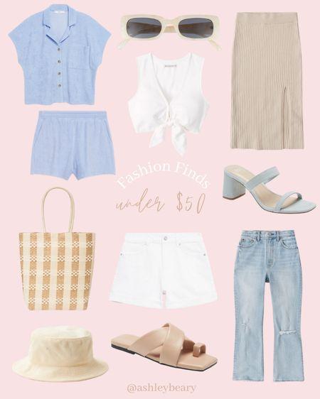 Baby blues 💕 New summer fashion finds under $50! http://liketk.it/3jpbP @liketoknow.it #liketkit #LTKsalealert #LTKunder50 #LTKunder100 #denim #buckethat #summeroutfit #outfitstyle