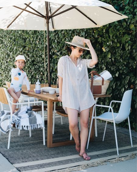 It's not the perfect pool day without a cute coverup (and snacks, Harper), am I right? Sharing a round up of coverups on crystalinmarie.com with @nordstrom http://liketk.it/3hRxN #liketkit @liketoknow.it #LTKhome #ad #nordstrom