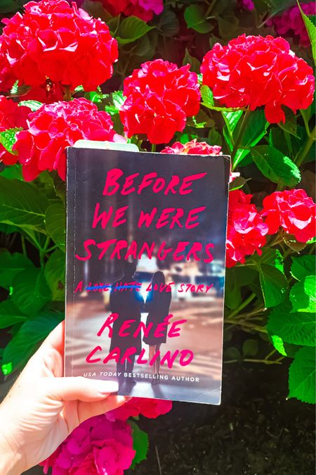 """This book was AMAZING!! If you are looking for a easy & fast read, """"Before We Were Strangers"""" by Renée Carlind is the book for you. It's a great mixture of romantic, sexy, heartbreaking, and relatable all in one! http://liketk.it/2Tkba #liketkit @liketoknow.it #book #summerread #bookreview #buynow #summer"""