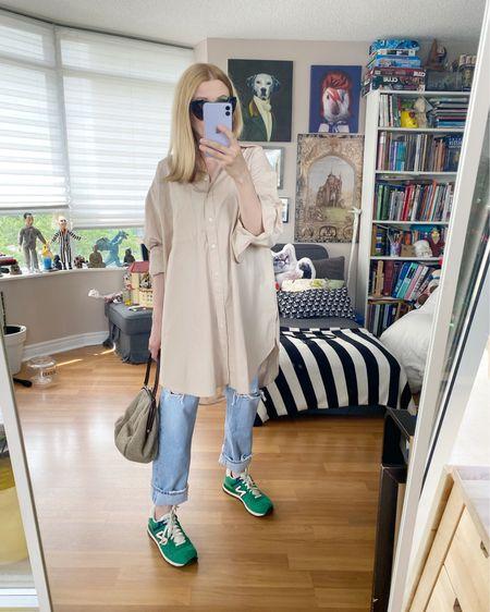 I feel like the oversized shirt might be my new summer uniform. I found this one at the Zara sale. • • •  http://liketk.it/3iL5Y   #liketkit @liketoknow.it . . .  #oversizedShirt #SpringLook #newBalance  #StyleOver40  #vintageNewBalance  #AgoldE  #StayAtHomeMomStyle  #FashionOver40  #OutfitIdeas #leSpecs #TorontoBlog #MumStyle #vintageMiuMiu #OversizedButtonUp #90sJeans #AgoldEJeans #vintageBag #WhoWhatWearing #Over40Style #40PlusStyle #Stylish40s #miuMiuBag #secondhandDesigner  #HighStreetFashion #StyleIdeas #DailyOutfits