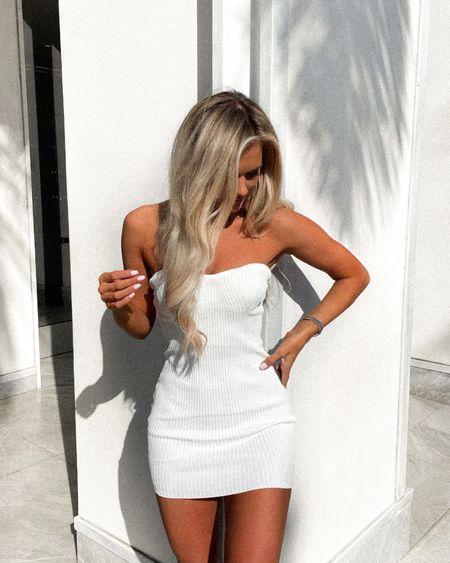 http://liketk.it/3j3Pk #liketkit @liketoknow.it #LTKunder100 #LTKtravel #LTKstyletip @liketoknow.it.europe @liketoknow.it.brasil @liketoknow.it.home @liketoknow.it.family #dress #whitedress #summer #sandals #travel #strapless #bodycon #revolve