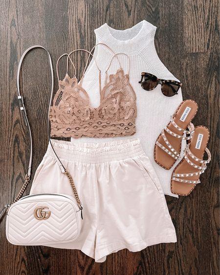 Neutral summer outfit Amazon finds   #LTKsalealert #LTKshoecrush #LTKunder50