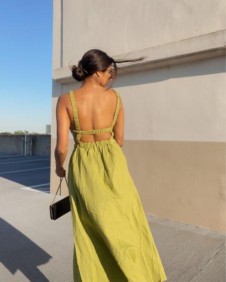 Love a good linen dress 💚 http://liketk.it/3eROF #liketkit @liketoknow.it