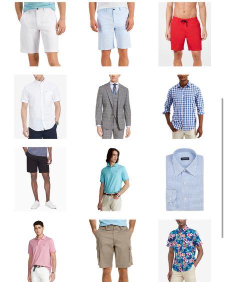Summer outfits for men on sale at Macy's Men's polo shirt Men's dress shirt Men's shorts Men's suit    http://liketk.it/3k0hQ #liketkit @liketoknow.it #LTKsalealert #LTKmens #LTKunder50