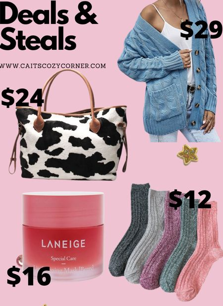 Deals and steals with beauty bags and cozy items for fall!   #LTKSeasonal #LTKbeauty #LTKbacktoschool