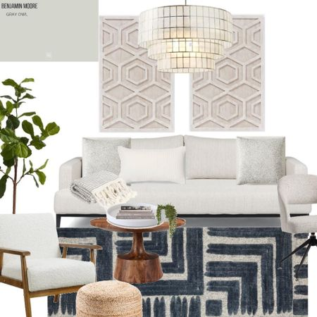 Get this stylish yet functional home office/guest room look 👏🏻 all products linked below!   #LTKhome