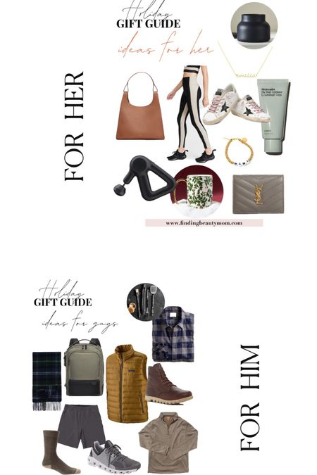 Holiday gift guide for him and her. Women's gifts, men's gifts,   #LTKGiftGuide