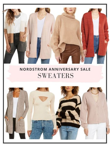 The Nordstrom Anniversary Sale is now open to all cardholders! Here are our top picks for sweaters and jackets http://liketk.it/3jRAW #liketkit @liketoknow.it #LTKsalealert