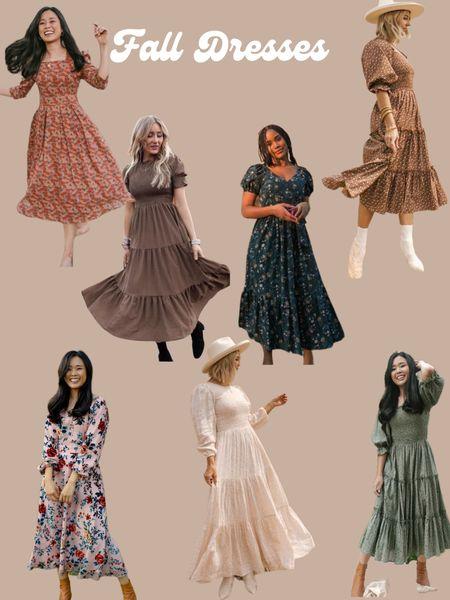 Fall Dresses!  #LTKstyletip #LTKSeasonal #LTKfamily