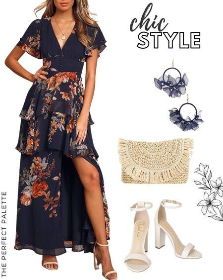 Gorgeous floral print maxi dress. Such a flattering style               #liketkit  #LTKfall #weddingguestdresses  #bridesmaiddresses #wedding #summerdress #summerfashion #bridalshowerdress #bridalshowerdress     #dress #weddingguest #weddingguestdress @shop.ltk http://liketk.it/3eh5b  #LTKshoecrush #LTKsalealert #LTKfit #LTKfamily #LTKunder100 #LTKswim #LTKstyletip #LTKSeasonal #LTKwedding #LTKunder50 #LTKbeauty #LTKtravel #LTKitbag #LTKhome #LTKcurves