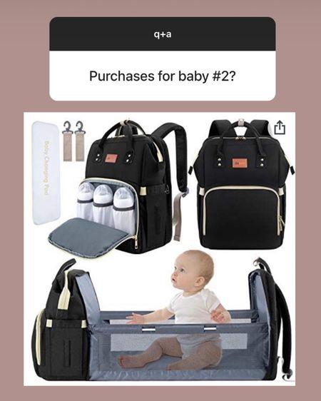 Amazon portable bassinet + diaper bag! $45 and 7 colors http://liketk.it/3hAqK #liketkit @liketoknow.it #amazon #baby #LTKbump #LTKunder50 #LTKunder100