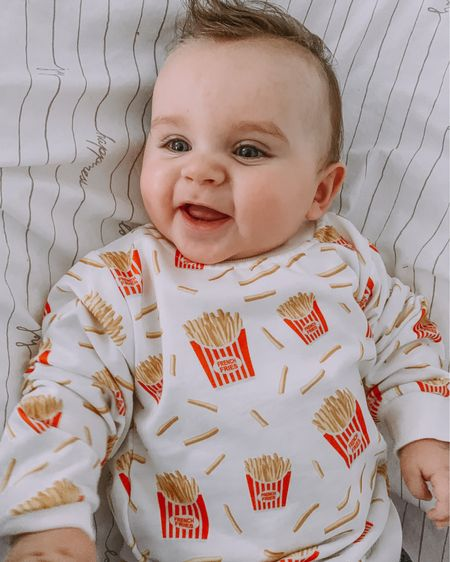 http://liketk.it/35lP1 #liketkit @liketoknow.it The cutest French fry 🍟 😭😭🥰 Another adorable find on SHEIN for my sweet Parker! And only $8?! Yes please! #LTKbaby #LTKfamily #LTKkids Shop my daily looks and Parker's looks by following me on the LIKEtoKNOW.it shopping app 🙌🏻
