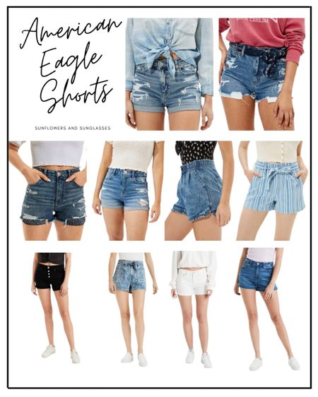 Nothing says summer like a good pair of denim shorts. American Eagle has some great ones right now!  #LTKSeasonal #LTKstyletip #LTKunder100