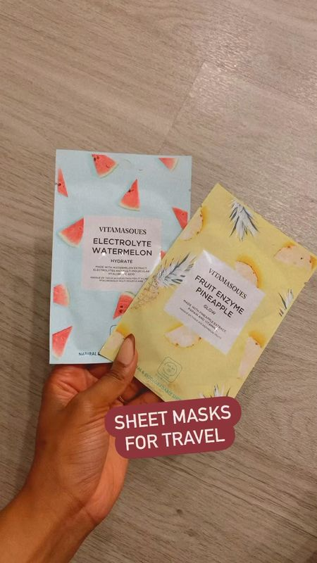 Love these sheet masks for a quick treat while traveling! Don't forget this to take care of your skin after a flight ✈️   #LTKbeauty #LTKSeasonal #LTKtravel