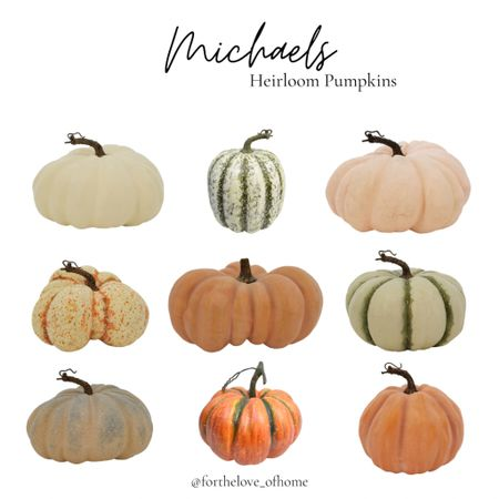 Pumpkins! Mix these in with your real one's! #onsale #pumpkin #sale #falldecor  #LTKhome #LTKSeasonal #LTKSale