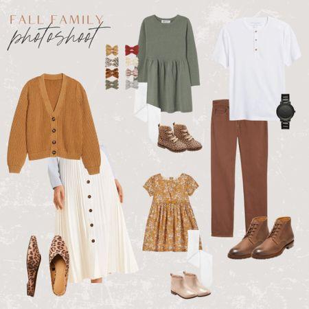 Fall Family Photoshoot Outfit Ideas!  #family #fallphotoshoot #photos #familyphotos #photoshoot   #LTKfamily #LTKSeasonal #LTKbacktoschool