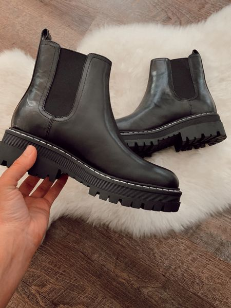 Marc Fisher boots on sale! Part of the Nordstrom anniversary sale! Black boots chunky boots fall fashion fall boots winter boots trending fashion outfit ideas #nsale   #LTKstyletip #LTKsalealert #LTKshoecrush