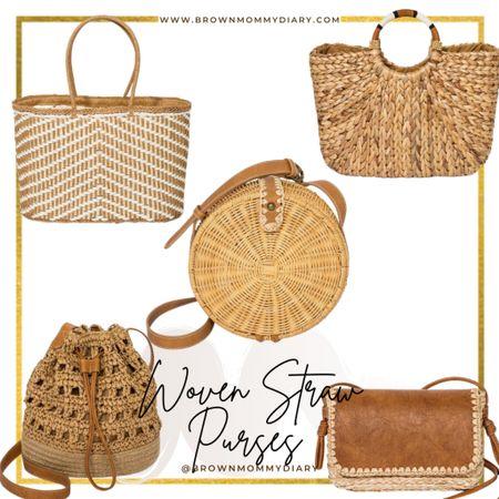 Woven straw purses. Summer fashion. Target finds. http://liketk.it/3eJNz #liketkit @liketoknow.it #LTKsalealert