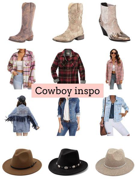 Cowboy boots. Western. Nashville   #LTKshoecrush #LTKunder50 #LTKSeasonal