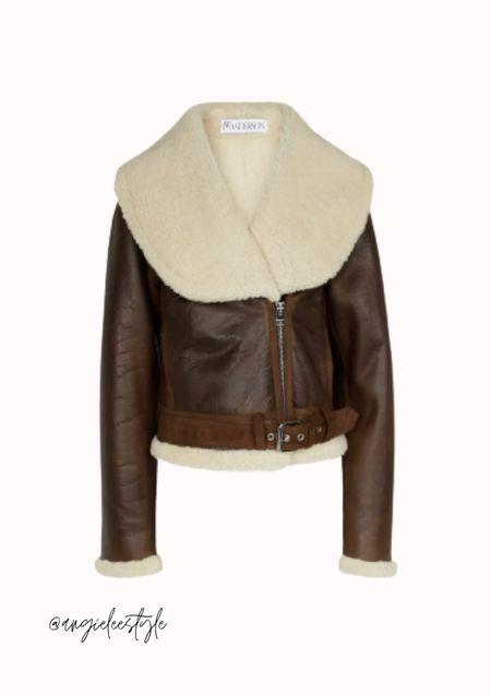 #LTKeurope #LTKaustralia #LTKbrasil Shearling and leather jacket
