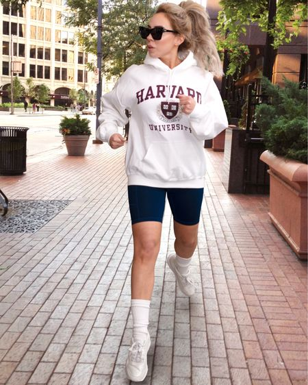 Dress like Diana! One of my favorite athletic looks of hers. Check out those socks 🤣 all of these are available on Amazon!    http://liketk.it/38KTv #liketkit @liketoknow.it #LTKfit #LTKunder50 #LTKstyletip