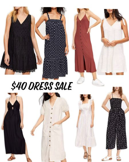 Sale, dress, loft   #LTKstyletip #LTKsalealert #LTKunder50