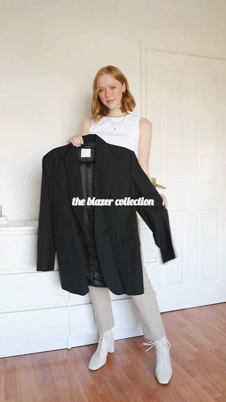 The Blazer Collection 🤍  #LTKeurope #LTKunder50 #LTKunder100
