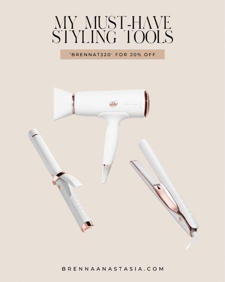 T3 Micro Curling iron, flat iron, hair dryer — CODE: 'BRENNAT320' for 20% off your purchase @liketoknow.it #liketkit http://liketk.it/3i01l #LTKbeauty #LTKstyletip