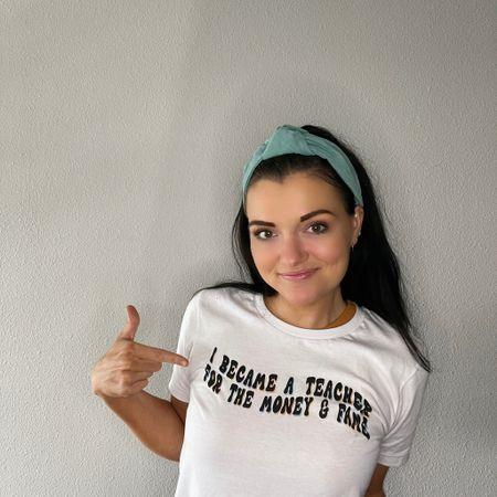 Obsessed with this teacher tee 😍  #LTKunder50 #LTKstyletip #LTKworkwear