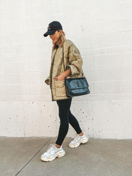 Fall jacket! Wearing size small runs tts   #LTKstyletip