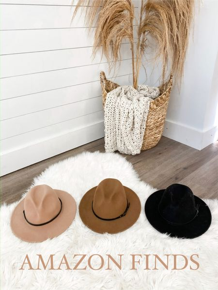 Amazon fall fedora hats  #fall #hats #laurabeverlin   #LTKunder50 #LTKsalealert #LTKunder100