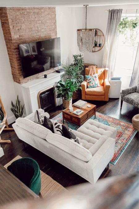 I love mixing natural elements with colors, patterns and textures for both relaxing and bold feels — Shop my boho-home decor with @liketoknow.it #LTKhome #LTKunder100 #LTKunder50 http://liketk.it/3jRN0 #liketkit  living room decor, home decor