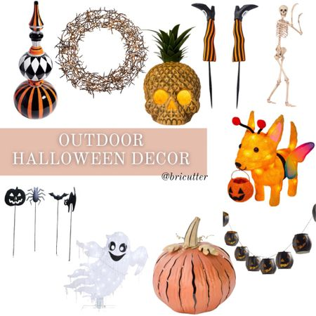 Halloween is just around the corner! Here is some decor to get into the spooky spirit!   #LTKHoliday #LTKSeasonal #LTKhome