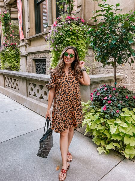 An Amazon dress that is perfect for fall! I sized up to a medium.