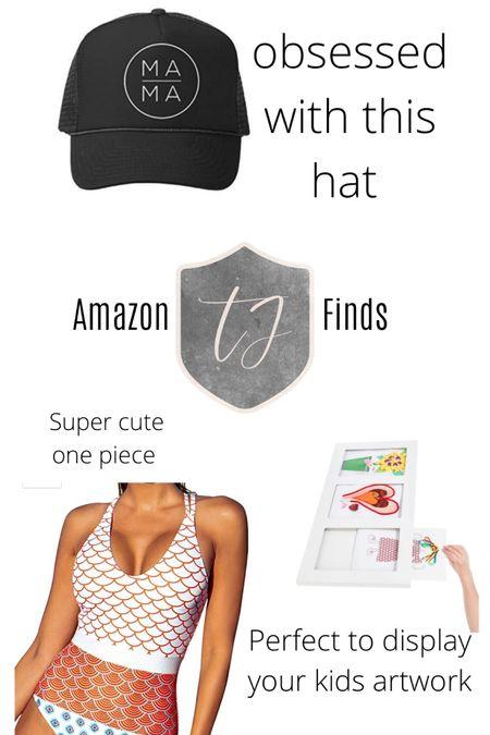 Amazon finds! MAMA hat. Swimsuit #LTKSpringSale http://liketk.it/3btxH #liketkit @liketoknow.it You can instantly shop my looks by following me on the LIKEtoKNOW.it shopping app