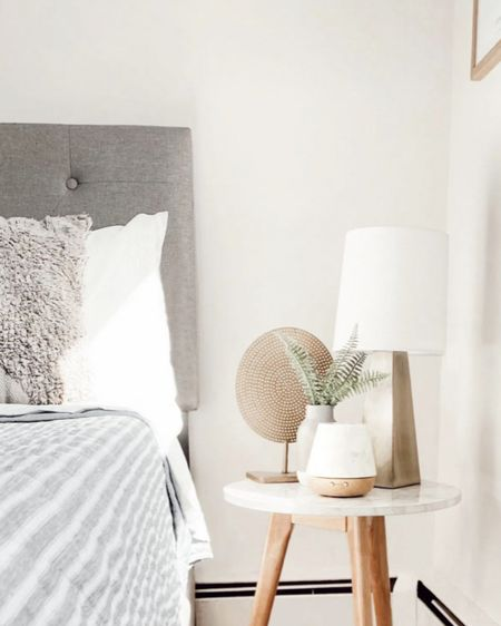 Bedside table & decor all from #target and #amazon http://liketk.it/3h2yF #liketkit @liketoknow.it #LTKfamily #LTKhome #LTKstyletip