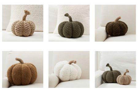 Cozy pumpkin pillows 🧡  #LTKhome #LTKSeasonal #LTKunder50
