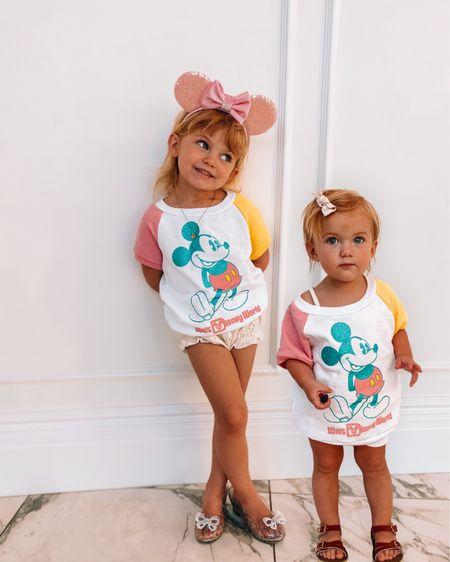 the girls Disney world shirts!  both are XS! http://liketk.it/3cPYs #liketkit @liketoknow.it