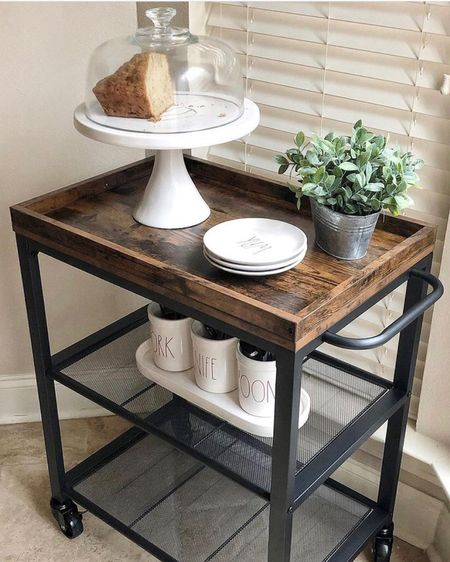 Everyone needs a beautiful kitchen bar cart and this one is beyond perfect for any budget minded home decor enthusiasts.    Shop my daily looks by following me on the LIKEtoKNOW.it shopping app @liketoknow.it @liketoknow.it.home #liketkit #LTKhome #LTKunder100 #LTKstyletip http://liketk.it/3fEOz