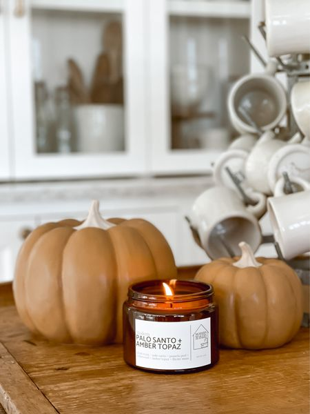 Fall is here right? These ceramic pumpkins are the perfect fall color & add the perfect amount of cozy fall to any space!   #LTKunder100 #LTKhome #LTKSeasonal