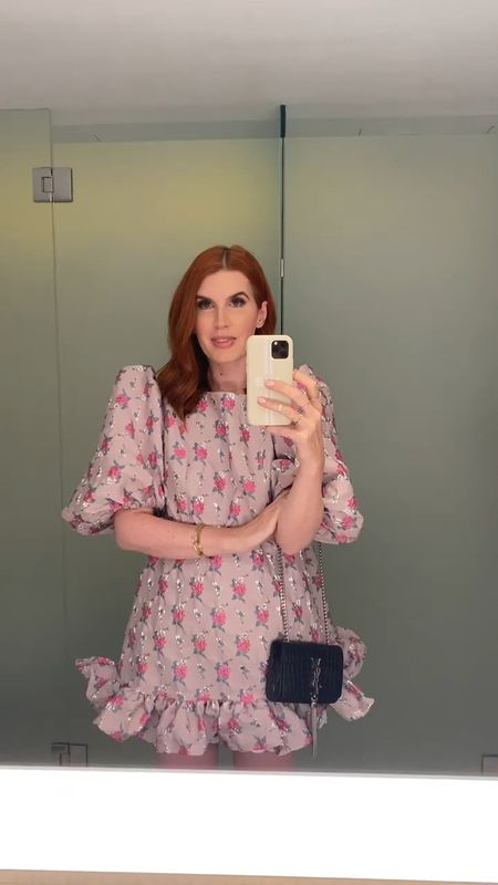 Wearing my new Sister Jane dress and I'm wearing a size medium. It's a very comfortable and flattering dress and is part of their new collection. I wanted to wear a local brand for this launch and Sister Jane are made here in the UK!  #LTKHoliday #LTKitbag #LTKwedding
